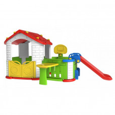 Domček pre deti s predzáhradkou 5 v 1 RAMIZ CHD-808 - červený