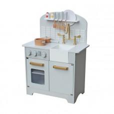 Detská drevená kuchynka DELUXE -W10C298