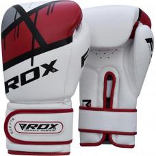 Boxerské rukavice RDX F7 Ego - červené