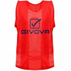 Rozlišovací dres GIVOVA - červený
