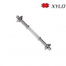 Hriadeľ na jednoručnú činku XYLO 35 cm / 28 mm