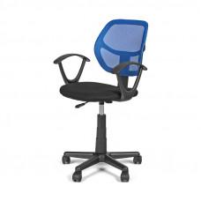 Kancelárska stolička Ergo modrá