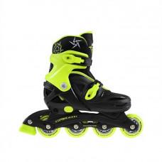 Detské kolieskové korčule NILS EXTREME NJ0321A - zelené