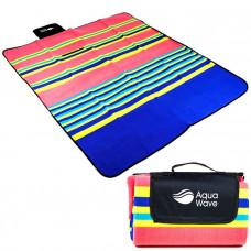 Pikniková deka 130 x 150 cm AQUAWAVE STRATER - farebná