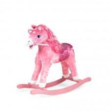 Interaktívny hojdací kôň Sapphire Kids - ružový