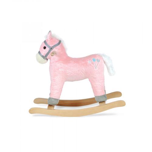 Hojdací kôň Sapphire Kids SK - 30 - ružový