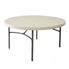 Okrúhly skladací stôl LIFETIME 80121