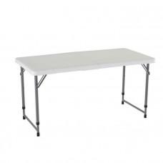 Skladací stôl s nastaviteľnou výškou LIFETIME 4428