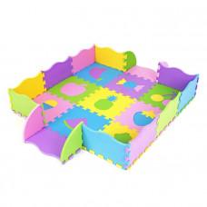 Penová 3D puzzle podložka s ovocím