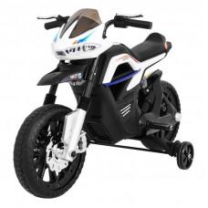 Elektrická motorka Night Rider - biela