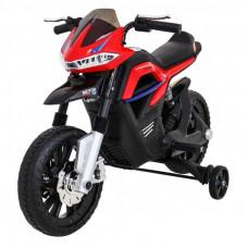 Elektrická motorka Night Rider - červená