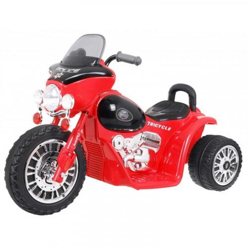 Elektrická trojkolka Chopper - červená