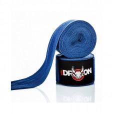 Boxerské bandáže Mr.Dragon 350 cm - modré