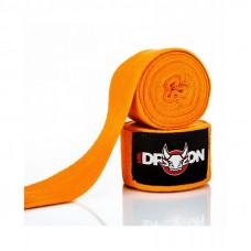 Boxerské bandáže Mr.Dragon 350 cm - oranžové