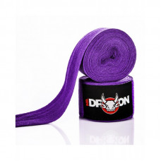 Boxerské bandáže Mr.Dragon 350 cm - fialové
