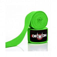 Boxerské bandáže Mr.Dragon 350 cm - zelené