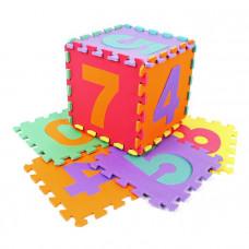 Penová puzzle podložka s číslami
