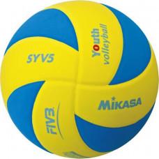 Volejbalová lopta MIKASA SYV5 YBL - modrá