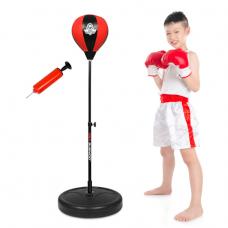 Boxerská hruška DBX BUSHIDO pre deti 72 - 102 cm - ČERVENÁ