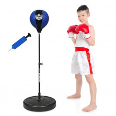 Boxerská hruška DBX BUSHIDO pre deti 72 - 102 cm- MODRÁ