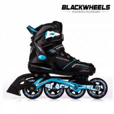 Kolieskové korčule BlackWheels Slalom - modré