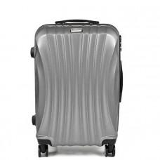 Cestovný kufor SAPPHIRE ST-100  strieborný- L