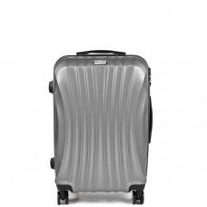 Cestovný kufor SAPPHIRE ST-100  strieborný - M