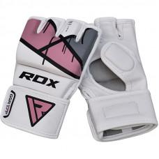 Rukavice RDX T7 Ego MMA Grappling - ružové