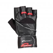 Fitness rukavice Spokey GANTLET- čierne