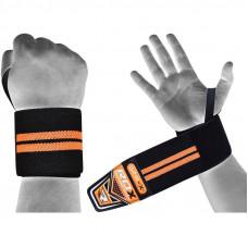 Bandáže na zápästia RDX W3BG - oranžové