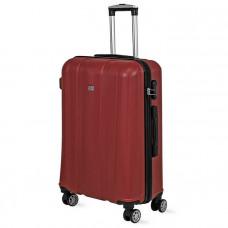 Cestovný kufor DAVID JONES 1028 L (107 l) - červený