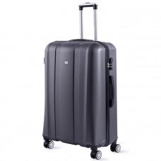 Cestovný kufor DAVID JONES 1028 L (107 l) - grafitová
