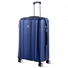 Cestovný kufor DAVID JONES 1028 L (107 l) - tmavomodrá