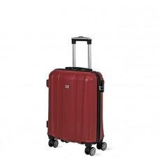 Cestovný kufor DAVID JONES 1028 S (40 l) - červený