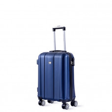 Cestovný kufor DAVID JONES 1028 S (40 l) - tmavomodrá
