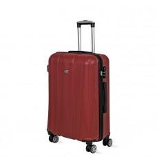 Cestovný kufor DAVID JONES 1028 M (72 l) - červený