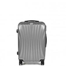 Cestovný kufor SAPPHIRE ST-100 strieborný - S
