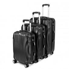Sada cestovných kufrov 3V1 SAPPHIRE ST-100 - Čierné