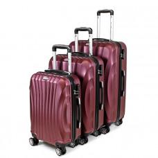 Sada cestovných kufrov 3v1 Sapphire ST-100 - fialové
